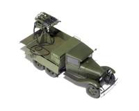 Сборная модель MiniArt Грузовой автомобиль ГАЗ-ААА cо счетверенным пулеметом Максим М4 1:35 (MA35177)