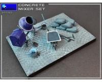 Сборная модель MiniArt Набор с бетономешалкой 1:35 (MA35593)