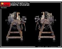 Сборная модель MiniArt Двигатель Continental R975 1:35 (MA35321)