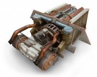 Сборная модель MiniArt Двигатель V-2-34 с трансмиссией 1:35 (MA35205)