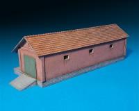 Сборная модель MiniArt пакгауза 1:72 (MA72029)
