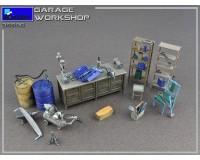 Сборная модель MiniArt Гаражная мастерская 1:35 (MA35596)