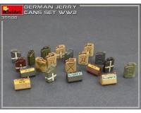 Сборная модель MiniArt Набор немецких канистр, Вторая мировая война 1:35 (MA35588)