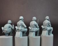Сборные фигурки MiniArt Немецкие панцергренадеры 1:35 (MA35248)