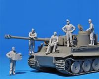 Сборные фигурки MiniArt Немецкий танковый экипаж, Нормандия 1944, специальное издание 1:35 (MA35275)