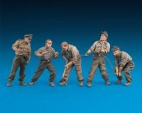 Сборные фигурки MiniArt Немецкий танковый ремонтный экипаж, специальное издание 1:35 (MA35319)