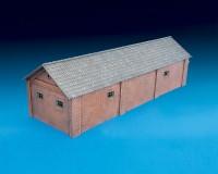 Сборная модель MiniArt товарного склада 1:72 (MA72023)