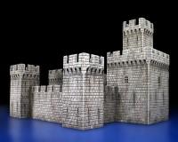 Сборная модель MiniArt средневекового замка XII-V вв. 1:72 (MA72005)