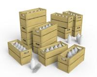 Сборная модель MiniArt Молочные бутылки и деревянные ящики 1:35 (MA35573)