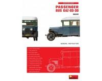 Сборная модель пассажирского автобуса MiniArt ГАЗ-03-30 1:35 (MA38005)