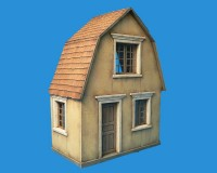 Сборная модель MiniArt Польский деревенский дом 1:35 (MA35517)