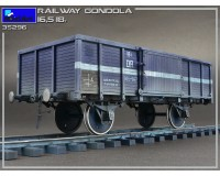Сборная модель MiniArt Полувагон 16,5-18 тонн 1:35 (MA35296)