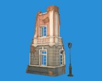 Сборная модель MiniArt Разрушенное городское здание 1:35 (MA35519)