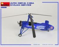 Сборная модель автожира гражданской службы MiniArt Avro Cierva C.30A Civilian Service 1:35 (MA41006)