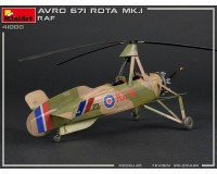 Сборная модель автожира MiniArt Avro 671 Rota Mk.I RAF 1:35 (MA41008)