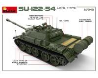 Сборная модель САУ MiniArt SU-122-54 позднего типа 1:35 (MA37042)