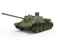 Сборная модель MiniArt Советская СУ-85 образца 1943 г. с полным интерьером 1:35 (MA35187)