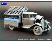 Сборная модель MiniArt Советская ракетная установка LAP-7 1:35 (MA35277)