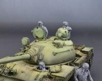 Сборные фигурки MiniArt советского танкового экипажа 1960-70 годов 1:35 (MA37037)