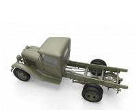 Сборная модель MiniArt Советский 1,5-тонный автомобиль со счетверенным пулеметом Максим М4 1:35 (MA35186)