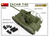 Сборная модель MiniArt Румынская САУ Tacam T-60 с интерьером 1:35 (MA35230)