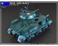 Сборная модель MiniArt Американский средний танк Grant Mk.I с интерьером 1:35 (MA35217)