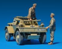 Сборная модель MiniArt Бронеавтомобиль Leichter Pz.kpfw. 202(e) 1:35 (MA35082)