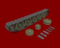 Сборная модель MiniArt Ходовая часть танка T-34/85 позднего типа 1:35 (MA35227)