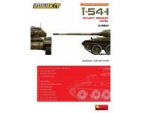 Сборная модель советского среднего танка MiniArt T-54-1 с интерьером 1:35 (MA37003)