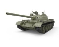 Сборная модель советского среднего танка MiniArt T-54B раннего выпуска с интерьером 1:35 (MA37011)