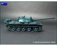 Сборная модель танка MiniArt T-55A ранних выпусков 1:35 (MA37057)