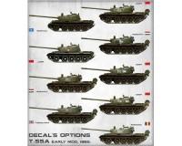 Сборная модель танка MiniArt T-55A Early с интерьером 1:35 (MA37016)