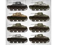 Сборная модель MiniArt Советский легкий танк Т-60 ранней серии, с интерьером, Завод №37 1:35 (MA35224)