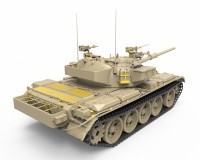 Сборная модель танка MiniArt Tiran 4 Sharir Late Type с интерьером 1:35 (MA37013)