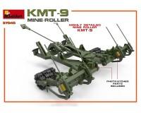 Сборная модель MiniArt Колейный минный трал КМТ-9 1:35 (MA37040)