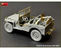 Сборная модель MiniArt Американский джип Bantam 40 BRC 1:35 (MA35212)
