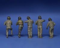 Сборные фигурки MiniArt американского танкового экипажа 1:35 (MA37005)