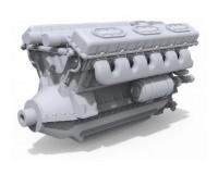Сборная модель двигателя MiniArt V-54 1:35 (MA37006)