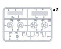 Сборная модель MiniArt Набор катков для танка Т-34/85 Морские звезды 1:35 (MA37033)