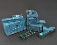 Сборная модель MiniArt Деревянные коробки и ящики 1:35 (MA35581)