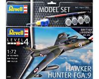 Подарочный набор Revell с моделью истребителя Hawker Hunter FGA.9 1:72 (RVL-63908)