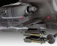 Подарочный набор Revell с моделью боевого вертолета AH-64A Apache 1:100 (RVL-64985)