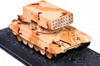 Сборная модель Звезда тяжёлая огнемётная система «ТОС-1А» 1:72