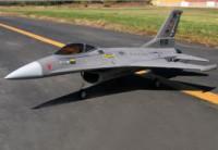 Истребитель на радиоуправлении FMS F-16 PNP Grey (776mm) (FMS005 Grey)