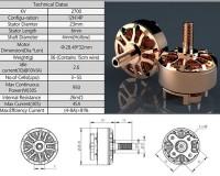 Мотор AirBot Mr. Copper 2306 2400KV 3-5S для мультикоптеров