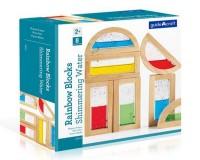 Набор стандартных блоков Guidecraft Block Play Цветная вода (G3013)