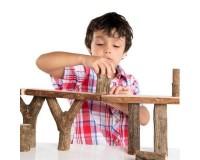 Набор блоков Guidecraft Natural Play Палки и бруски, 36 шт. (G6770)