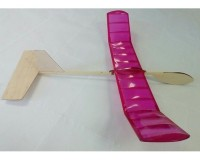 Набор Модельний Світ для изготовления схематической модели метательного планера Фламинго