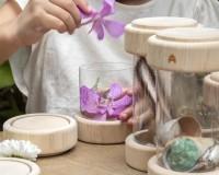 Набор Guidecraft Natural Play Сокровища в баночках, прозрачный (G3086)