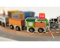 Деревянная железная дорога Viga Toys 49 деталей (56304)